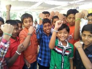 Joy in Hyderabad