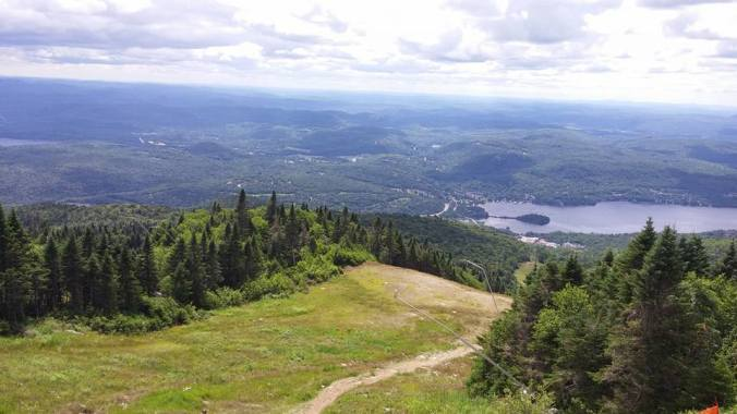 vista of Mont Tremblant